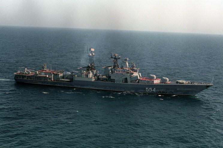 Điểm mặt đội tàu chiến Nga tập trận cùng TQ ở Biển Đông - 1