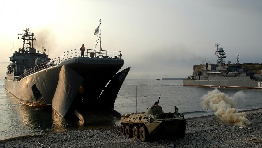Điểm mặt đội tàu chiến Nga tập trận cùng TQ ở Biển Đông - 2