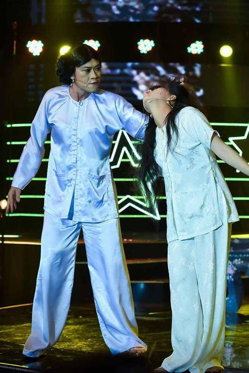 """""""Khó thở"""" với cảnh Hoài Linh túm tóc, tát mặt cháu gái - 1"""