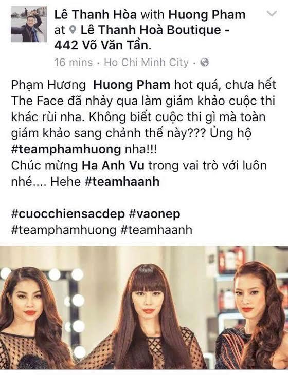 """Phạm Hương và """"cô gái sexy nhất The Face"""" lại đối đầu - 7"""