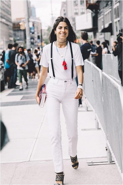 Đừng nghĩ mũm mĩm thì không thể mặc cả cây trắng - 6