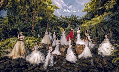 Bella Bridal tôn sự duyên dáng, quý phái của con gái Việt - 1