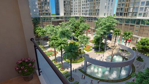 Eco-Green City xây dựng vượt tiến độ, chính thức cất nóc tòa CT4 - 1
