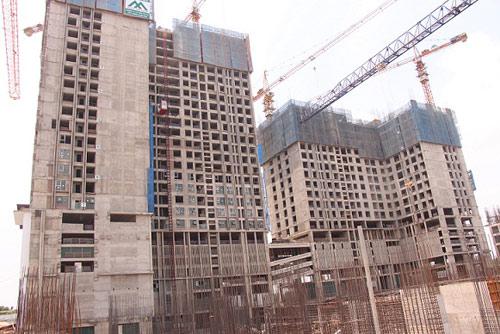 Eco-Green City xây dựng vượt tiến độ, chính thức cất nóc tòa CT4 - 2