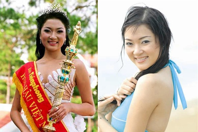 Ngẩn ngơ trước nhan sắc của Hoa hậu Nguyễn Thị Huyền - 3