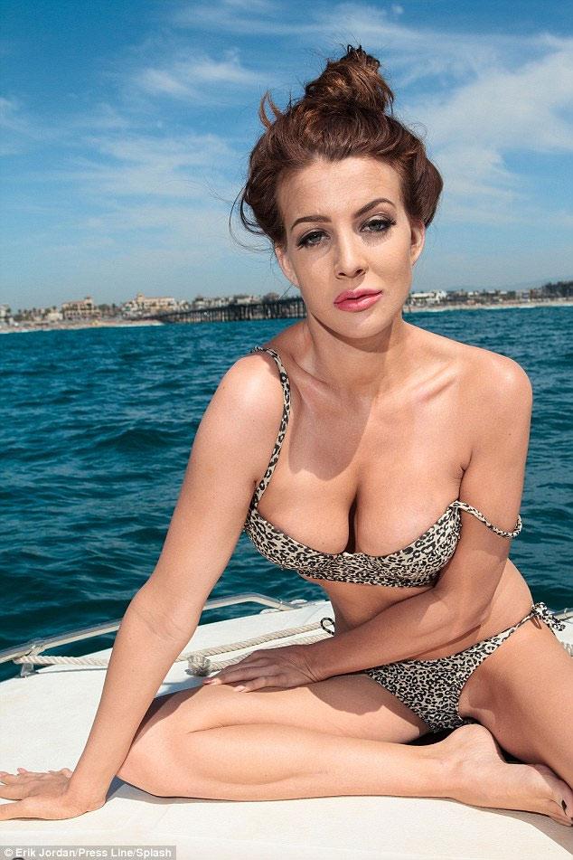 Cựu hoa hậu California từng mất vương miện vì ảnh nóng - 2