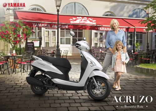 Yamaha tung ra chương trình khuyến mãi dành cho người mua Acruzo - 1