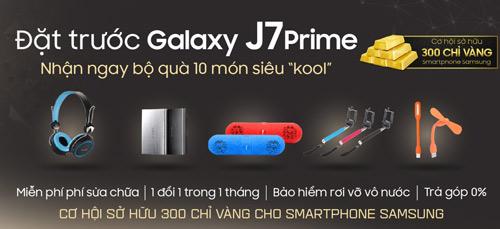 """Đặt Samsung J7 Prime tại Viễn Thông A nhận bộ quà 10 món siêu """"kool"""" - 2"""