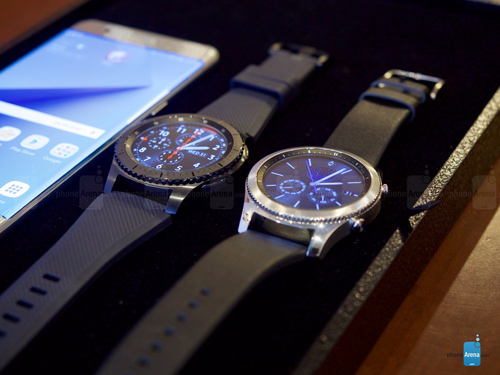 Samsung Gear S3 trình làng, mạnh mẽ và lịch lãm - 1