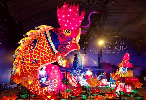 Ngắm lồng đèn hình muông thú khổng lồ ở Sài Gòn - 5