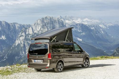 Mercedes ra loạt xe cắm trại mới cho nhà giàu - 1