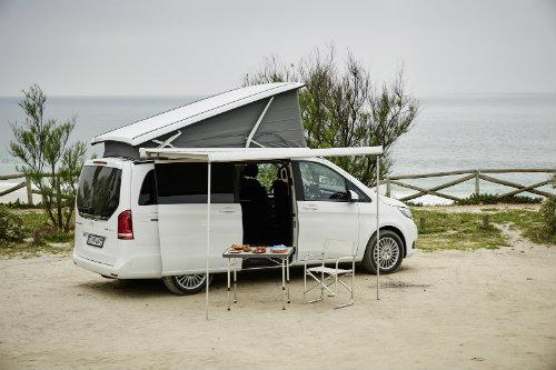 Mercedes ra loạt xe cắm trại mới cho nhà giàu - 5