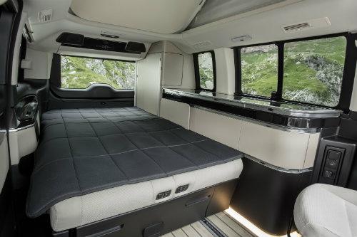 Mercedes ra loạt xe cắm trại mới cho nhà giàu - 4