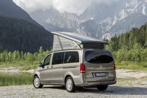 Mercedes ra loạt xe cắm trại mới cho nhà giàu - 3