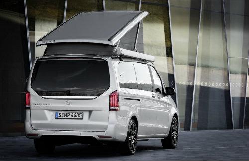 Mercedes ra loạt xe cắm trại mới cho nhà giàu - 11