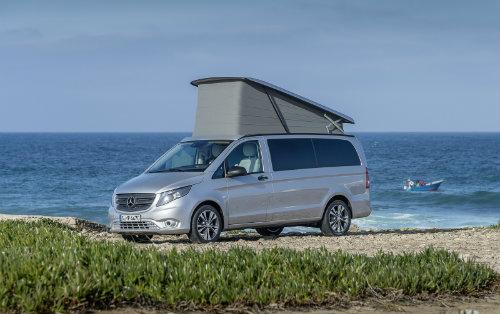 Mercedes ra loạt xe cắm trại mới cho nhà giàu - 10
