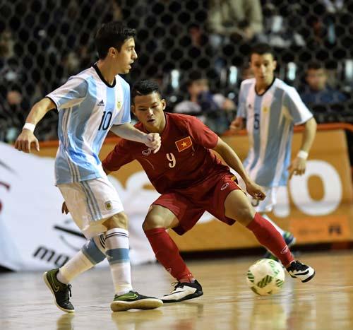Tuyển futsal Việt Nam thua ngược Argentina - 3