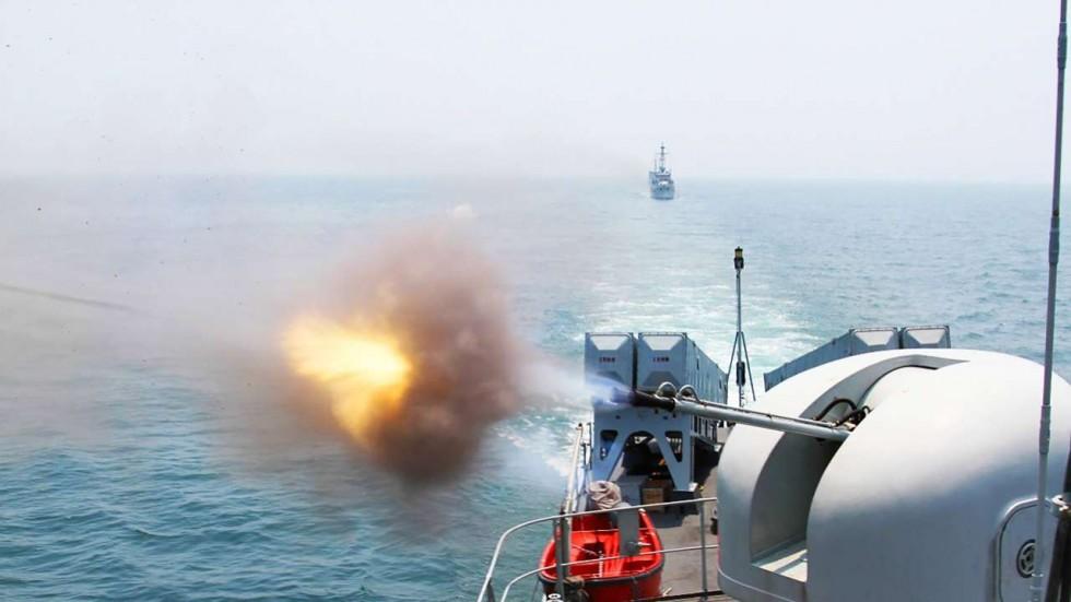 Hé lộ mục đích TQ tập trận gần vịnh Bắc Bộ - 1