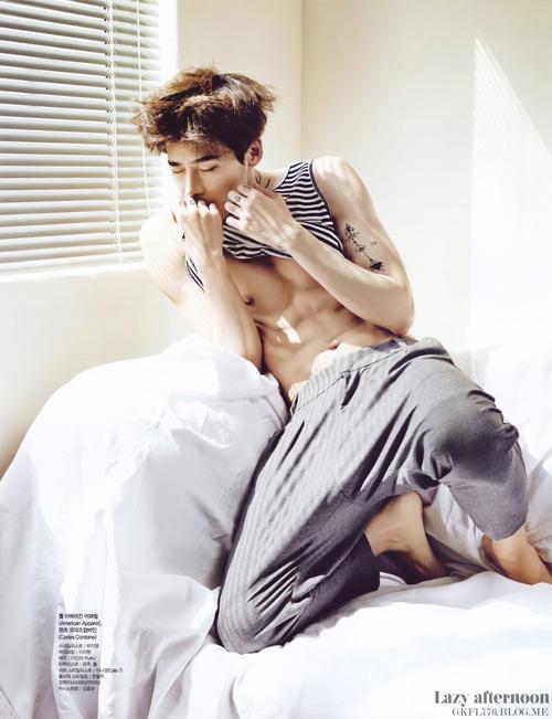 """19 mỹ nam Hàn """"cởi đồ"""" đẹp nhất - 3"""