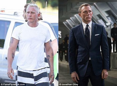 """Lộ hình ảnh cực phản diện của tài tử """"007"""" - 2"""