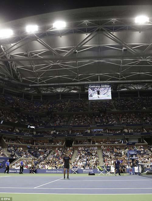 """Nadal khắc dấu lịch sử dưới """"chiếc ô nghìn tỷ"""" US Open - 1"""