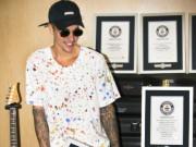 Justin Bieber lập 8 kỷ lục Guinness thế giới
