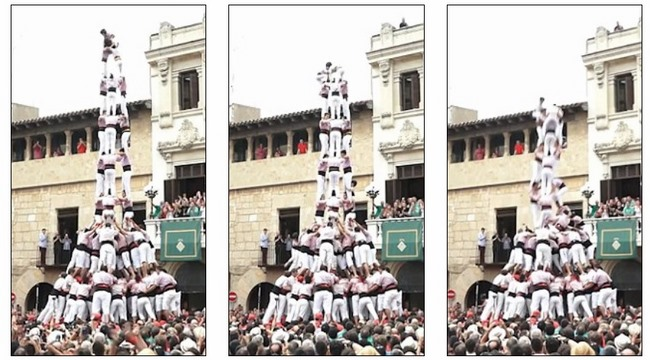 """Video: Tháp người cao 15m đổ """"như chuối"""" vì sai thao tác - 1"""