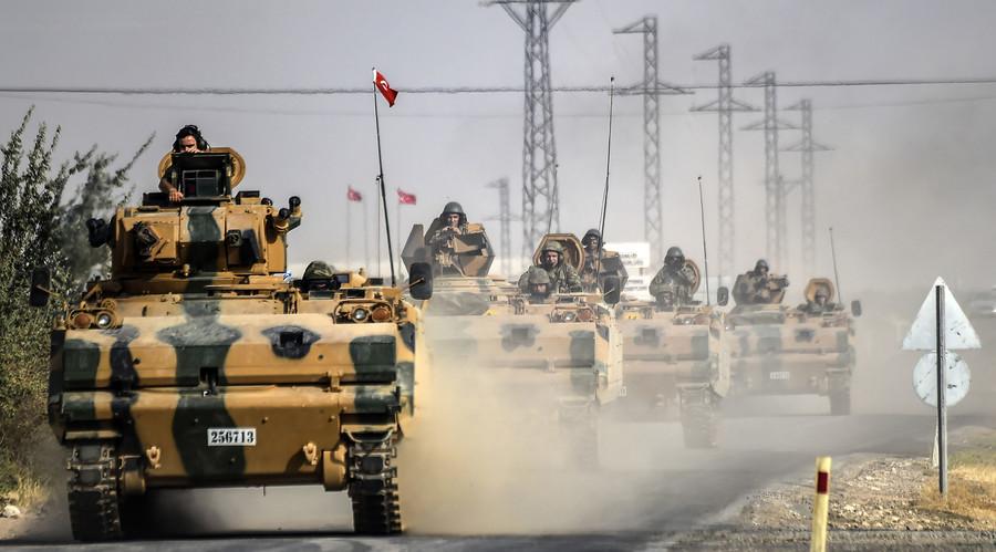 Thổ Nhĩ Kỳ giải phóng 400 km2 lãnh thổ Syria - 1