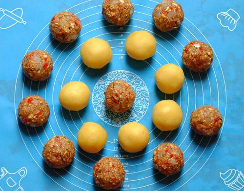 Cách làm bánh Trung thu thập cẩm ngon và đơn giản nhất - 4