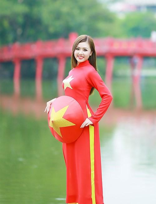 25 nữ sinh đẹp nhất Hoa khôi Sinh viên Hà Nội 2016 - 13