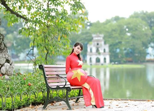 25 nữ sinh đẹp nhất Hoa khôi Sinh viên Hà Nội 2016 - 14