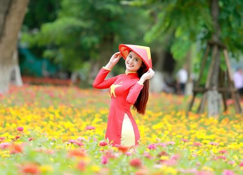 25 nữ sinh đẹp nhất Hoa khôi Sinh viên Hà Nội 2016 - 15