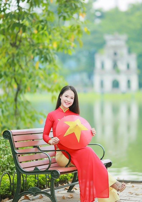 25 nữ sinh đẹp nhất Hoa khôi Sinh viên Hà Nội 2016 - 6