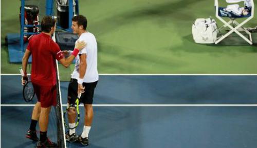 US Open ngày 4: Nishikori, Wawrinka cùng tiến bước - 1