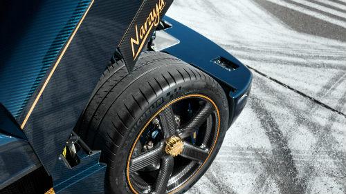 Phát sốt với Koenigsegg Agera RS Naraya mạ vàng, đính kim cương - 4