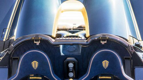 Phát sốt với Koenigsegg Agera RS Naraya mạ vàng, đính kim cương - 8