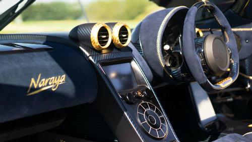 Phát sốt với Koenigsegg Agera RS Naraya mạ vàng, đính kim cương - 7