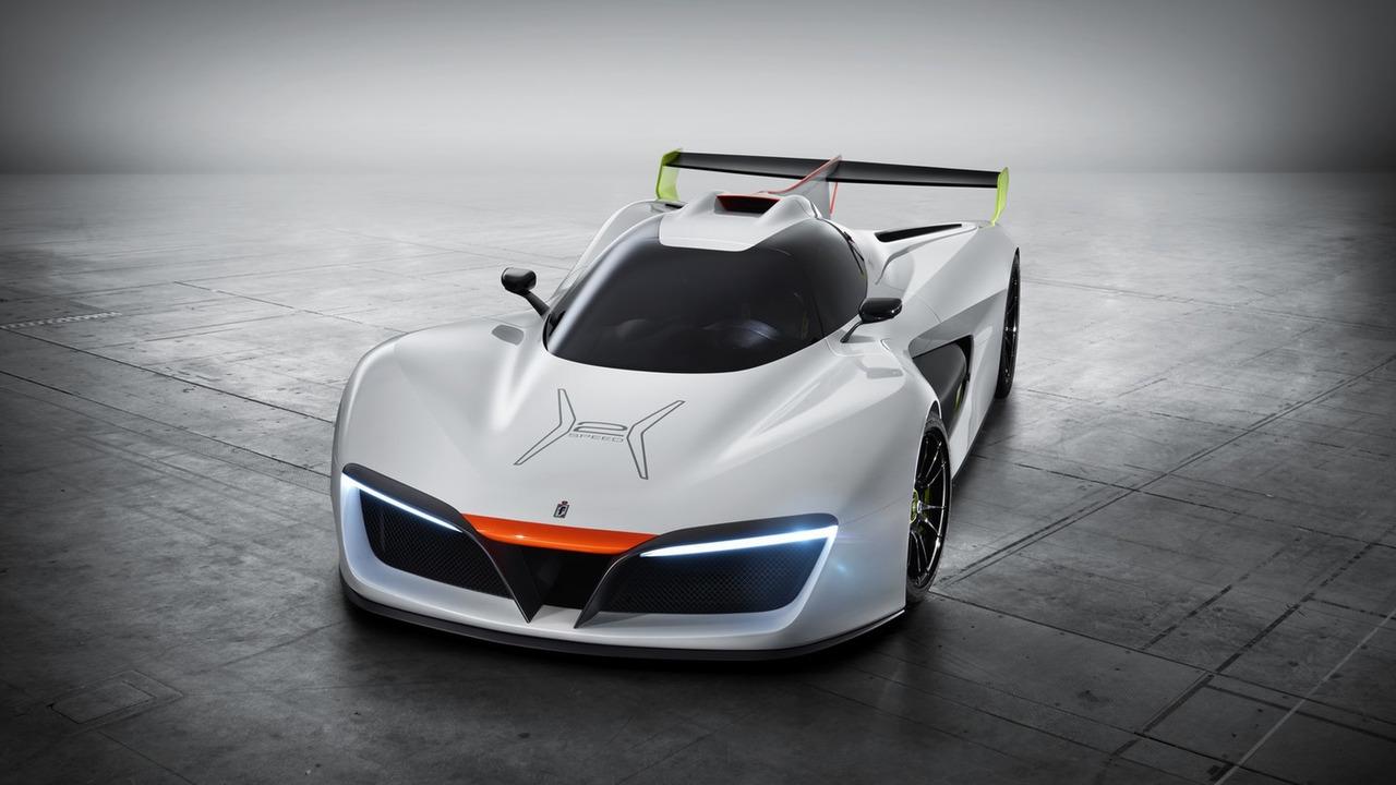 Siêu xe đua Pininfarina H2 Speed sẽ sản xuất với số lượng chỉ 10 chiếc - 5