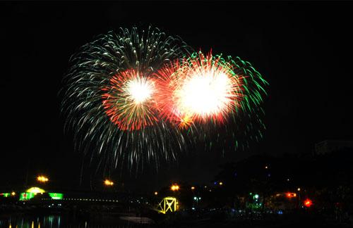 Pháo hoa lung linh trên bầu trời Sài Gòn mừng Tết Độc lập - 4