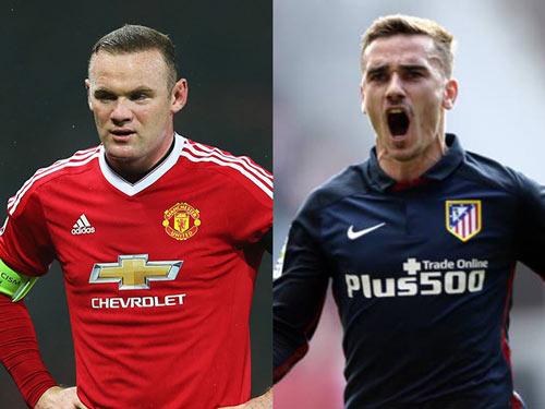 MU tính thay thế Rooney bằng Griezmann vào năm 2017 - 1