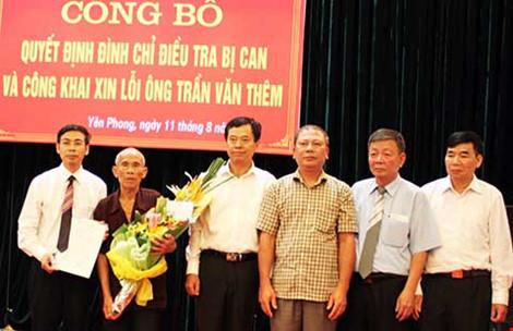 Ông Trần Văn Thêm yêu cầu bồi thường 8,3 tỉ đồng - 1