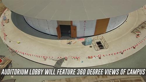 Tòa nhà Apple Campus 2 đang được lắp tấm năng lượng mặt trời - 2
