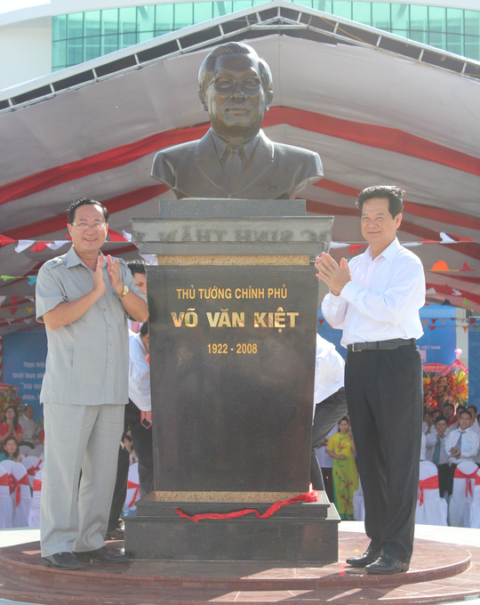 Khánh thành ngôi trường mang tên cố Thủ tướng Võ Văn Kiệt - 2