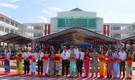 Khánh thành ngôi trường mang tên cố Thủ tướng Võ Văn Kiệt - 1
