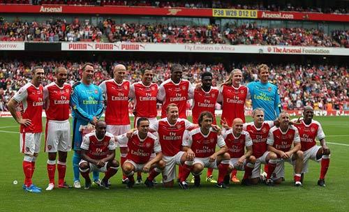 Huyền thoại Arsenal- Milan: Sống lại thời oai hùng - 3