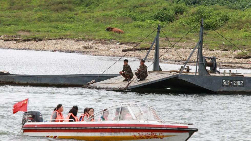 Mục kích cảnh buôn bán giữa TQ-Triều Tiên thời cấm vận - 2