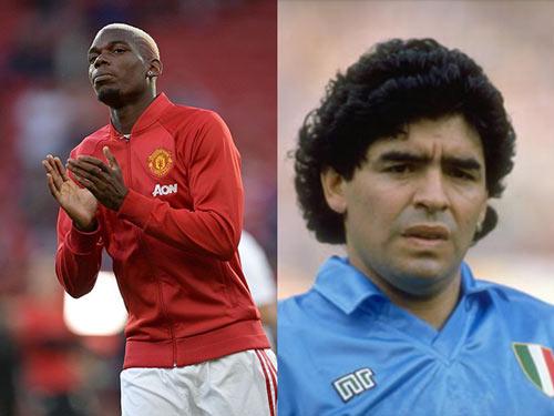 Kỳ quặc: Pogba được so sánh với… Maradona - 2
