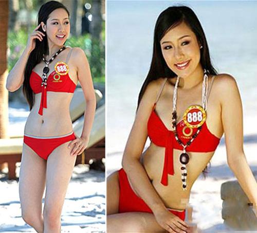 """""""Khai quật"""" ảnh bikini xưa cũ của các hoa hậu Việt - 12"""