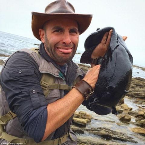 Tìm thấy sinh vật kì dị đen sì như than ở bờ biển Mỹ - 1