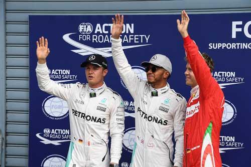 Phân hạng Italian GP: Show diễn của riêng Hamilton - 1